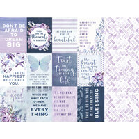 Kaisercraft - Amethyst Collection - 12 x 12 Double Sided Paper - Jewel