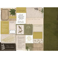 Kaisercraft - Fallen Leaves Collection - 12 x 12 Double Sided Paper - Cozy Corner