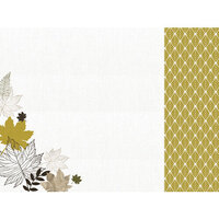 Kaisercraft - Fallen Leaves Collection - 12 x 12 Double Sided Paper - Warm Breeze