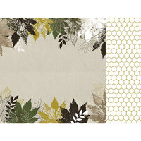 Kaisercraft - Fallen Leaves Collection - 12 x 12 Double Sided Paper - Morning Dew