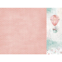 Kaisercraft - Little Treasures Collection - 12 x 12 Double Sided Paper - Tiny Miracle
