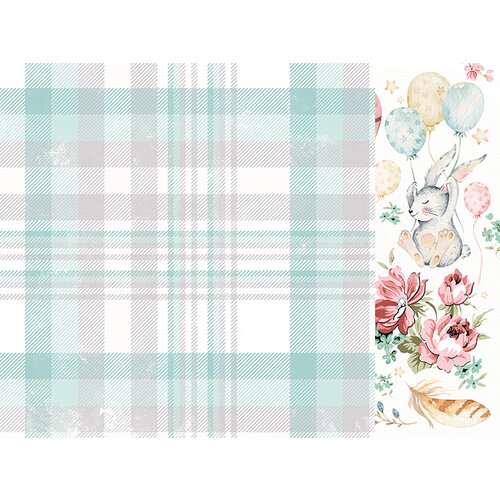 Kaisercraft - Little Treasures Collection - 12 x 12 Double Sided Paper - Cuddles