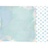 Kaisercraft - Little Treasures Collection - 12 x 12 Double Sided Paper - Baby Step