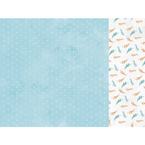 Kaisercraft - Little Treasures Collection - 12 x 12 Double Sided Paper - Pitter Patter