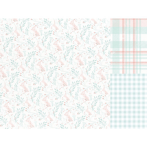 Kaisercraft - Little Treasures Collection - 12 x 12 Double Sided Paper - Little Gem