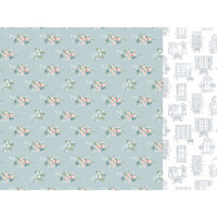 Kaisercraft - Flower Shoppe Collection - 12 x 12 Double Sided Paper - Conservatory