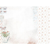 Kaisercraft - Flower Shoppe Collection - 12 x 12 Double Sided Paper - Garden Path