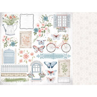 Kaisercraft - Flower Shoppe Collection - 12 x 12 Double Sided Paper - Full Bloom