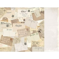 Kaisercraft - Explorer Collection - 12 x 12 Double Sided Paper - Globetrotter