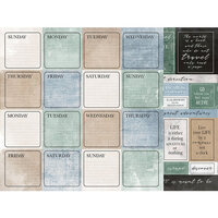 Kaisercraft - Explorer Collection - 12 x 12 Double Sided Paper - Itinerary