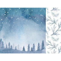Kaisercraft - Whimsy Wishes Collection - 12 x 12 Double Sided Paper - Night Sky