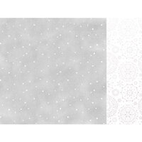Kaisercraft - Whimsy Wishes Collection - 12 x 12 Double Sided Paper - Falling Snow