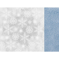 Kaisercraft - Whimsy Wishes Collection - 12 x 12 Double Sided Paper - Snowfall