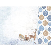 Kaisercraft - Whimsy Wishes Collection - 12 x 12 Double Sided Paper - Dashing Deer