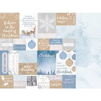 Kaisercraft - Whimsy Wishes Collection - 12 x 12 Double Sided Paper - Warm Wishes