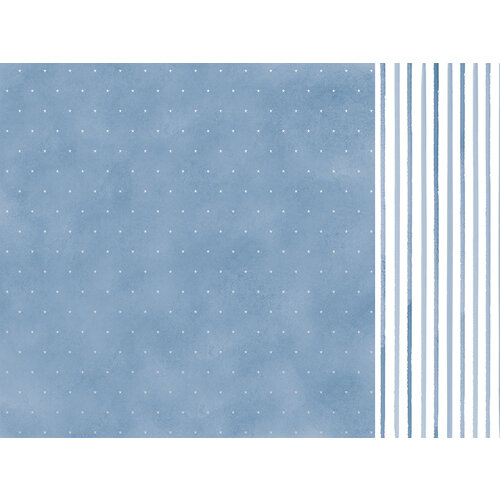Kaisercraft - Whimsy Wishes Collection - 12 x 12 Double Sided Paper - Cold Outside