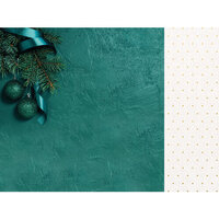 Kaisercraft - Emerald Eve Collection - 12 x 12 Double Sided Paper - Fir Tree
