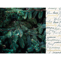 Kaisercraft - Emerald Eve Collection - 12 x 12 Double Sided Paper - Evergreen