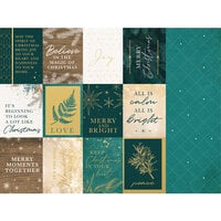 Kaisercraft - Emerald Eve Collection - 12 x 12 Double Sided Paper - Merry Moments