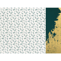 Kaisercraft - Emerald Eve Collection - 12 x 12 Double Sided Paper - Fir Sprigs