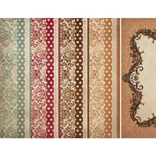 Kaisercraft - Tis The Season Collection - Christmas - 12 x 12 Double Sided Paper - Stocking