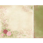 Kaisercraft - English Rose Collection - 12 x 12 Double Sided Paper - Lillian