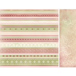 Kaisercraft - English Rose Collection - 12 x 12 Double Sided Paper - Pearl