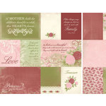 Kaisercraft - English Rose Collection - 12 x 12 Double Sided Paper - Charlotte