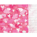 Kaisercraft - Love Notes Collection - Valentine - 12 x 12 Double Sided Paper - Dreamy