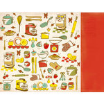 Kaisercraft - Nan's Favorites Collection - 12 x 12 Double Sided Paper - Shortbread