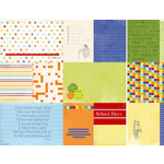 Kaisercraft - Class of '87 Collection - 12 x 12 Double Sided Paper - Excursion