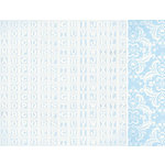 Kaisercraft - Lullaby Collection - 12 x 12 Double Sided Paper - First Words