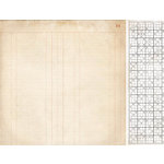 Kaisercraft - Timeless Collection - 12 x 12 Double Sided Paper - Ledger