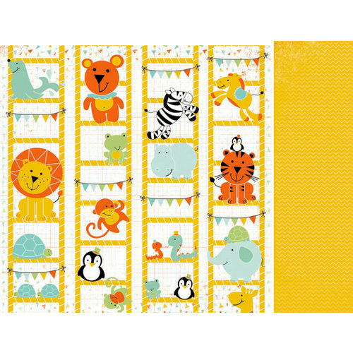 Kaisercraft - Party Animals Collection - 12 x 12 Double Sided Paper - Yippee