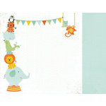 Kaisercraft - Party Animals Collection - 12 x 12 Double Sided Paper - Hooray