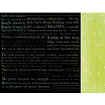 Kaisercraft - Chapter One Collection - 12 x 12 Double Sided Paper - Reflect