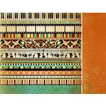 Kaisercraft - Velvet Ensemble Collection - 12 x 12 Double Sided Paper - Opera