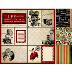 Kaisercraft - Velvet Ensemble Collection - 12 x 12 Double Sided Paper - Stage Show