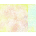 Kaisercraft - Pink Gelato Collection - 12 x 12 Double Sided Paper - Honey Dew