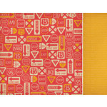 Kaisercraft - Little Toot Collection - 12 x 12 Double Sided Paper - Bang