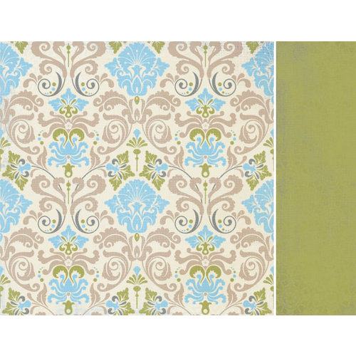 Kaisercraft - Blae and Ivy Collection - 12 x 12 Double Sided Paper - Mineral