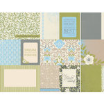 Kaisercraft - Blae and Ivy Collection - 12 x 12 Double Sided Paper - Valley