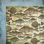 Kaisercraft - Hunt and Gather Collection - 12 x 12 Double Sided Paper - Fossick