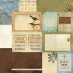 Kaisercraft - Hunt and Gather Collection - 12 x 12 Double Sided Paper - Search