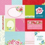 Kaisercraft - Miss Nelly Collection - 12 x 12 Double Sided Paper - Her Habits