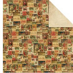 Kaisercraft - December 25th Collection - Christmas - 12 x 12 Double Sided Paper - Hope