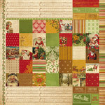 Kaisercraft - December 25th Collection - Christmas - 12 x 12 Double Sided Paper - Believe