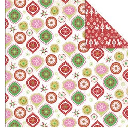 Kaisercraft - Silly Season Collection - Christmas - 12 x 12 Double Sided Paper - Jingle Bell