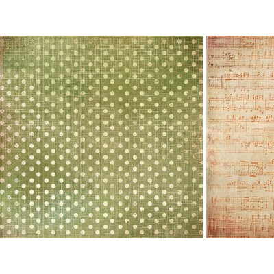 Kaisercraft - Sweet Nothings Collection - 12 x 12 Double Sided Paper - Sincerely