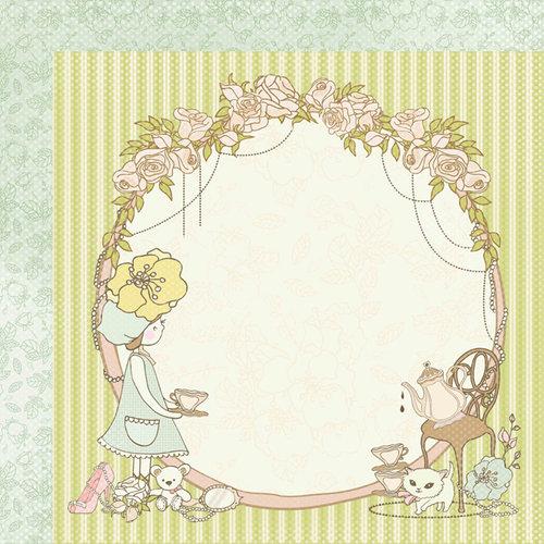 Kaisercraft - Lil' Primrose Collection - 12 x 12 Double Sided Paper - Summer Bonnet